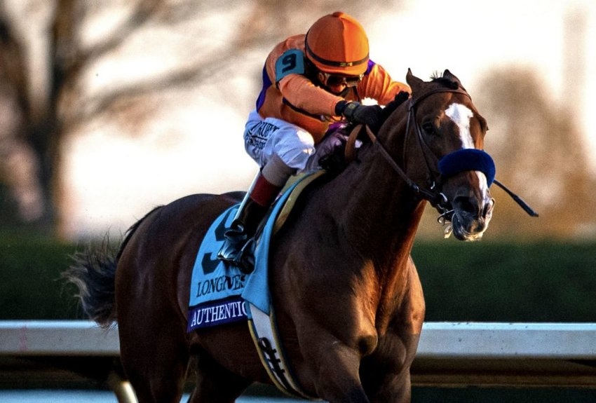 Authentic, owned in part by Nantucket summer residents, wins Saturday's Breeders' Cup Classic.