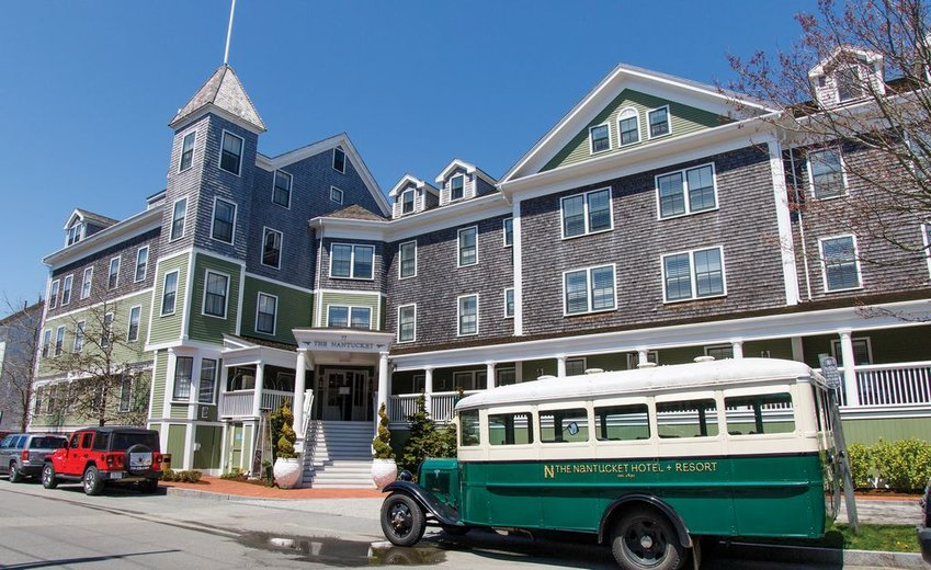 The Nantucket Hotel & Resort is one of four island buildings that has received historic preservation tax credits for restoration work.