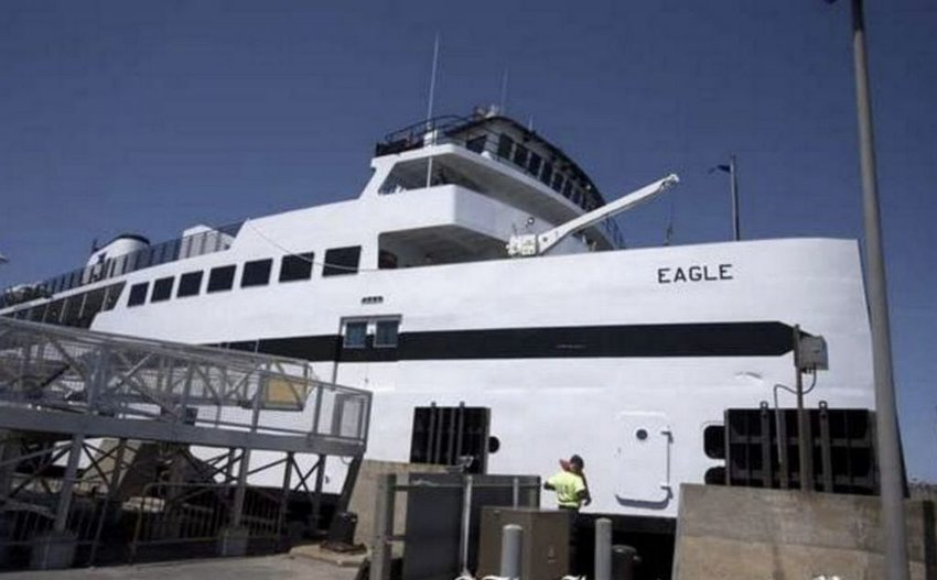The Steamship Authority's M/V Eagle.