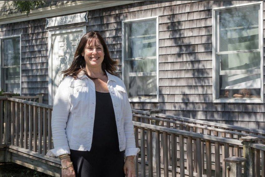Nantucket Children's Center owner Cathleen Farrell, shortly taking over the island preschool in 2017.