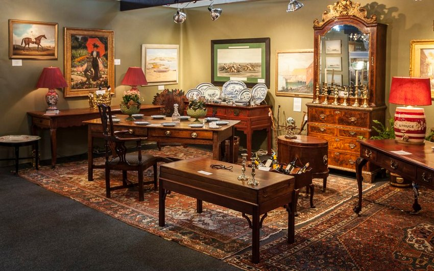Roger Winter Antiques will be among the 32 vendors at the Summer Antiques Show, running Friday through Monday at the Nantucket Boys & Girls Club on Sparks Avenue.