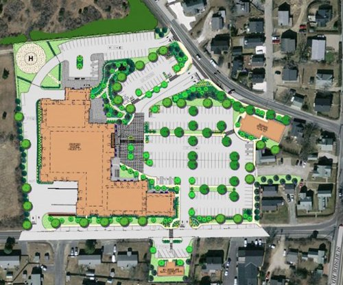 Courtesy of Nantucket Cottage Hospital The Nantucket Planning Board on Monday night voted 4-0 to approve the site plan of the new Nantucket Cottage Hospital on its existing campus between Prospect Street and Vesper Lane.  I&M Photo Galleries