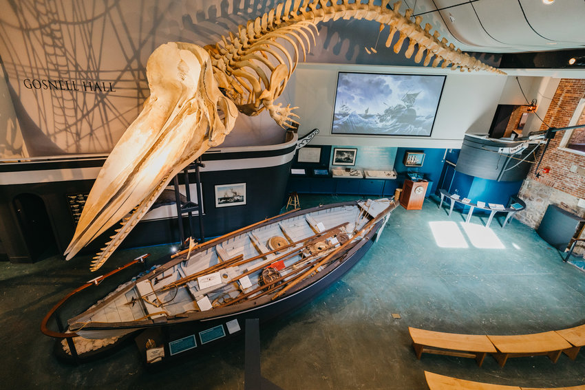 The Nantucket Whaling Museum will reopen Friday, Feb. 12.