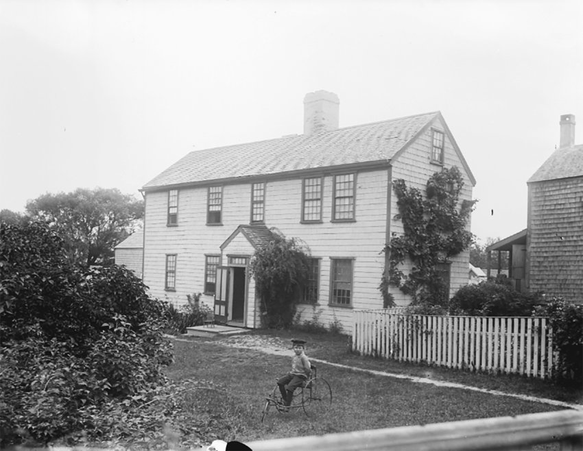 Thaddeus Hussey's one-time home on 22 Union Street
