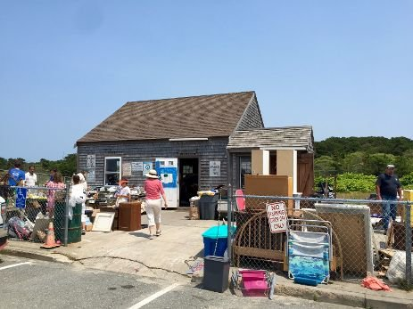 Nantucket's Take It Or Leave It at the Madaket landfill, has been closed since the start of the COVID-19 pandemic.