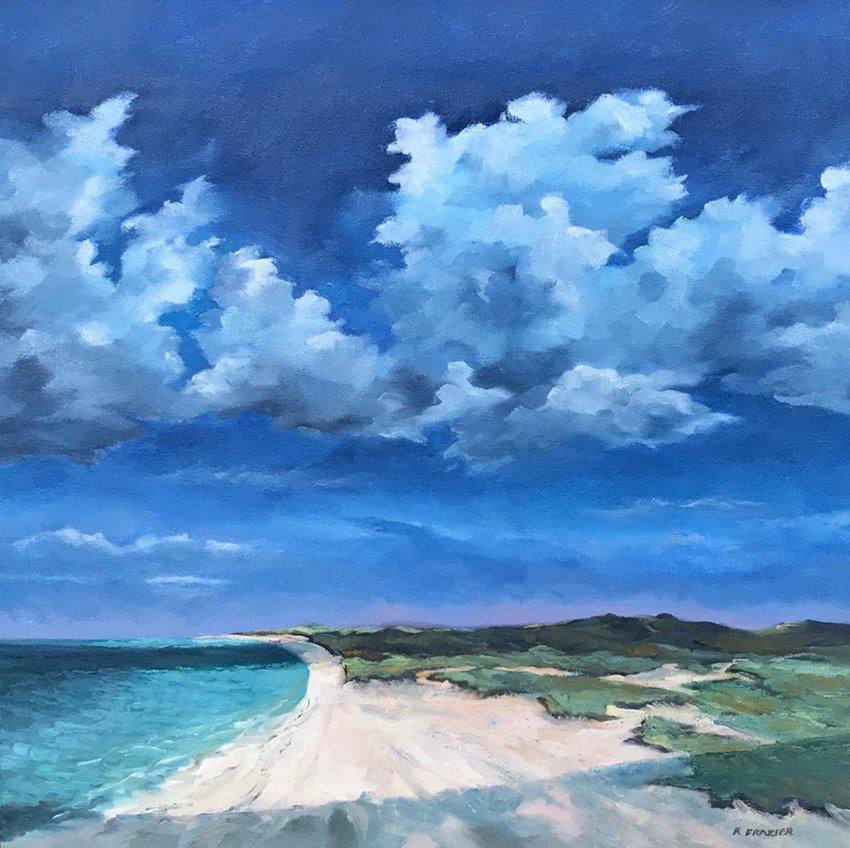 """Robert Frazier's """"Cloud Shadows."""""""