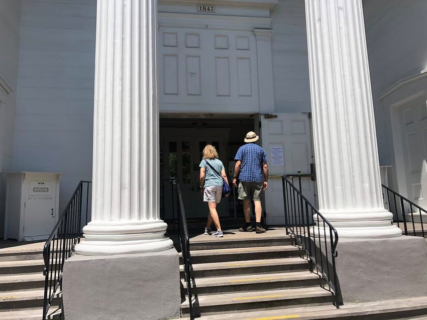 The Atheneum opened in a limited capacity late last month.
