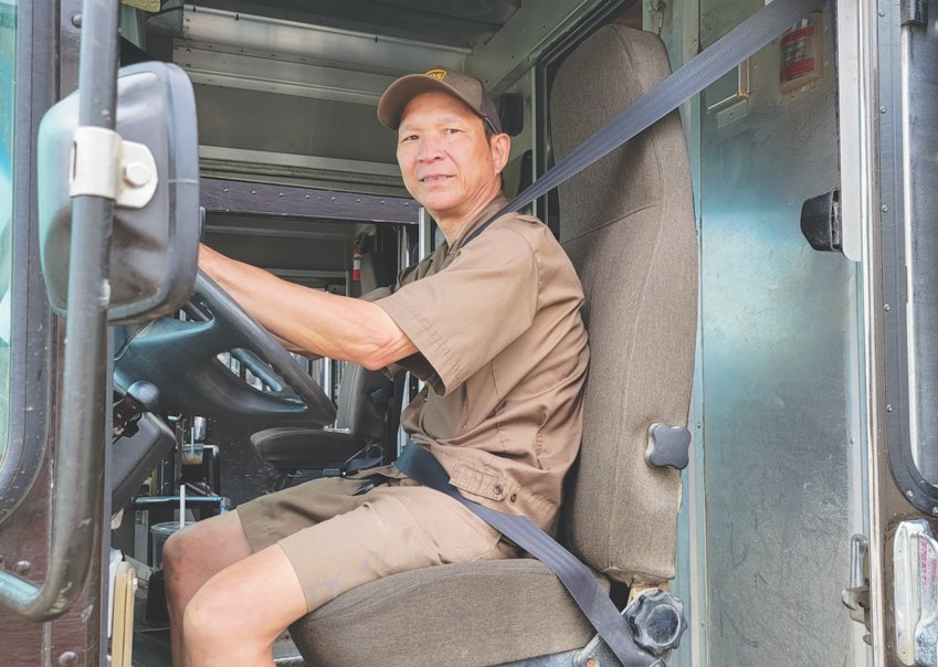 Thoai Tran was recently recognized by UPS as one of its safest drivers. He hasn't been involved in an accident in 27 years.