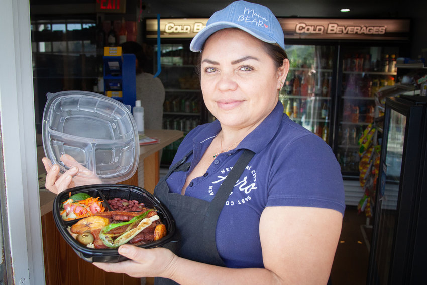Dora Lemus, chef and owner of the Nantucket Trading Post.