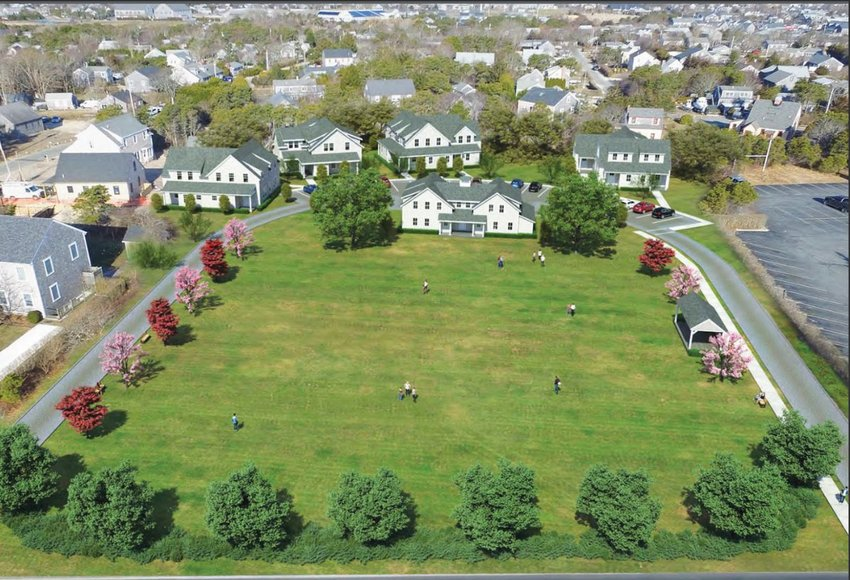 Twenty-two affordable rental units planned at at 31 Fairgrounds Road contribute to the next round of safe harbor for the town.