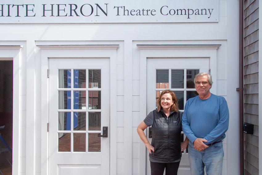 White Heron founder and president Lynne Bolton with executive director Michael Kopko