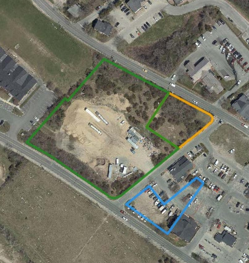 The Planning Board on Monday approved a 12-lot subdivision on just over three acres off Sparks Avenue. Stop & Shop, which leases the bulk of the property, says it has no plans to build the project, but wants to freeze the recently-lowered 40-foot zoning height.