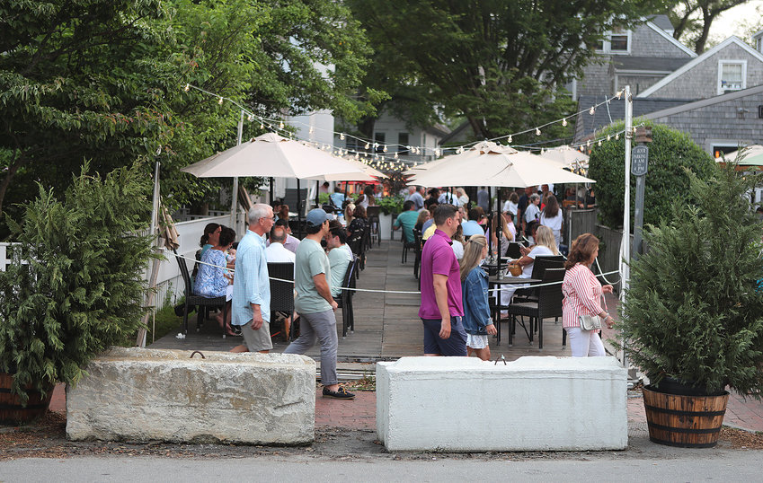 Oak Street has been closed the last two summers for outdoor dining.