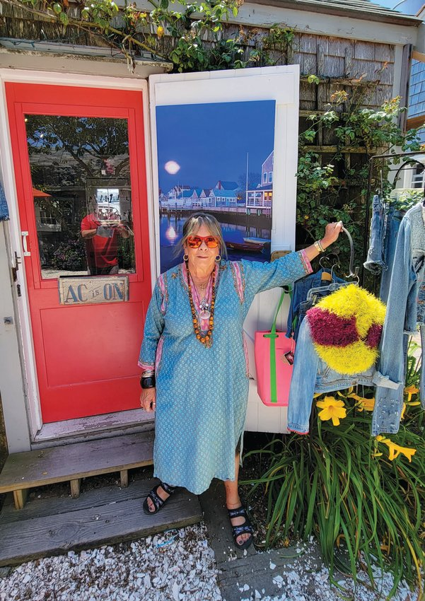 Kathleen Duncombe's Made on Nantucket has been on Old South Wharf for 13 years.