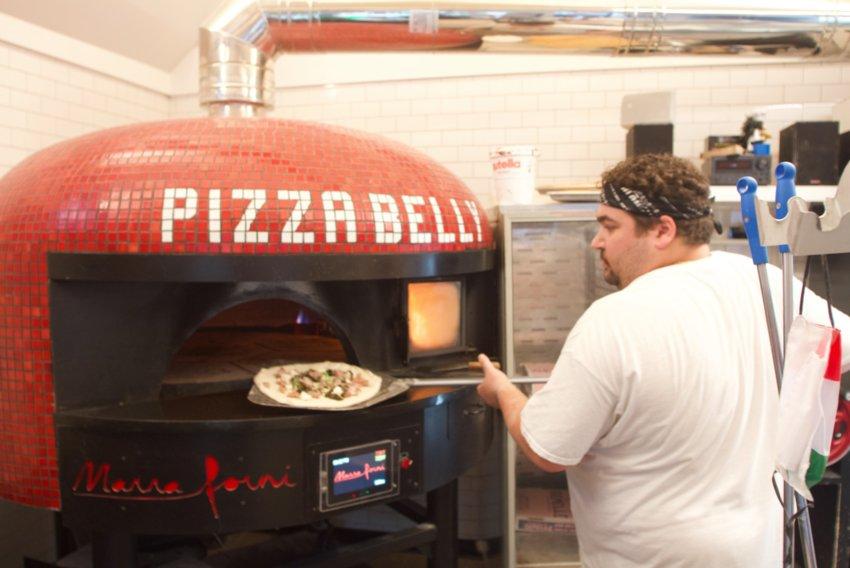 Elio DiMambro at Pizzeria Gemelle.