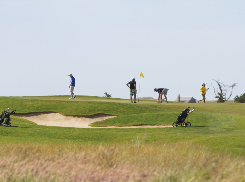 The management company that operates Miacomet Golf Course, above, and Siasconset Golf Course, both owned by the Nantucket Land Bank, has proposed upgrades to address the increased amount of use they've seen in recent years.