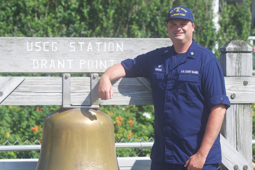 Master Chief Andrew Babione had been stationed in Florida, Texas, and North Carolina before he came to Nantucket – places where hurricanes are frequent and often intense.