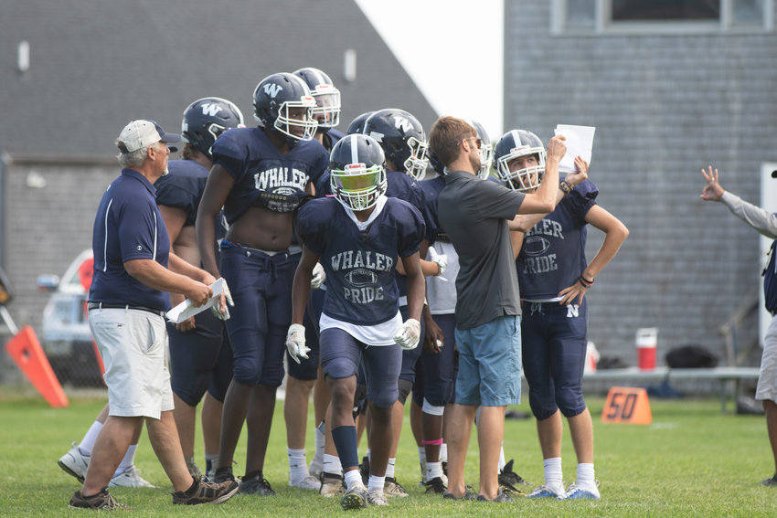The 2021 Whalers football team opens the season Saturday at home against Dennis-Yarmouth.