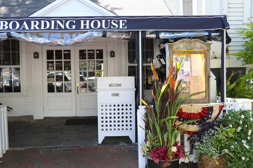 The Boarding House Restaurant on Federal Street.