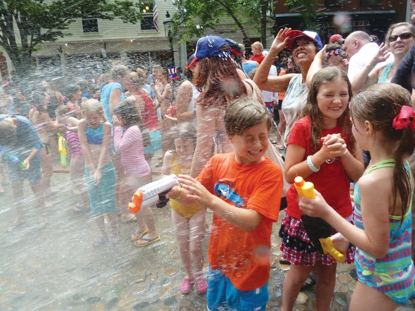 Nantucket's Fourth of July water fight on Main Street could be a thing of the past.
