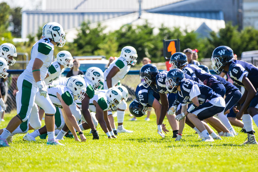 The Whalers opened the season with a 20-12 win over Dennis-Yarmouth.