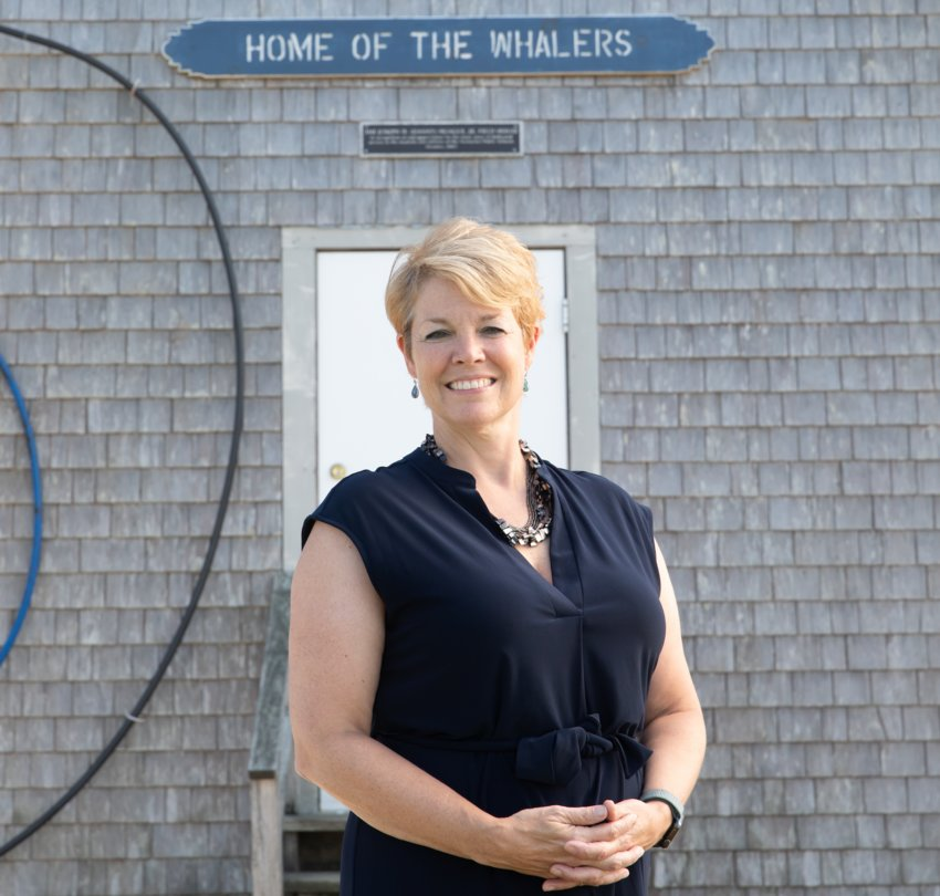 Nantucket Public Schools superintendent Bath Hallett