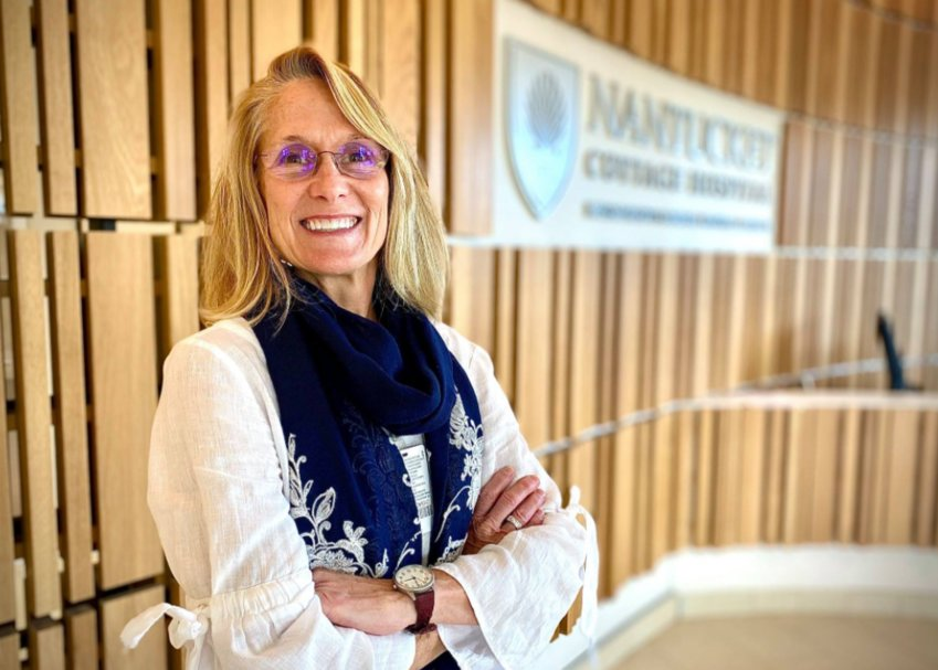 Debbie Dolan, Nantucket Cottage Hospital's new palliative and supportive care director.