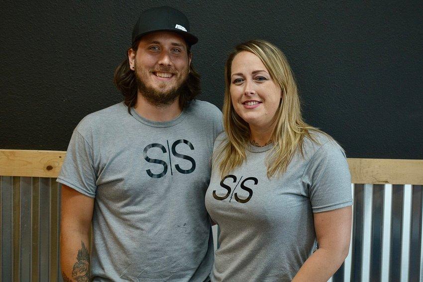 Cody and Alisha Sweaton hope to open their new studio, Shakti, in October.
