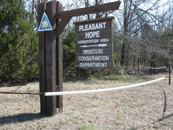 The unstaffed shooting range at the Missouri Department of Conservation's Pleasant Hope Conservation Area in Polk County will remain closed.