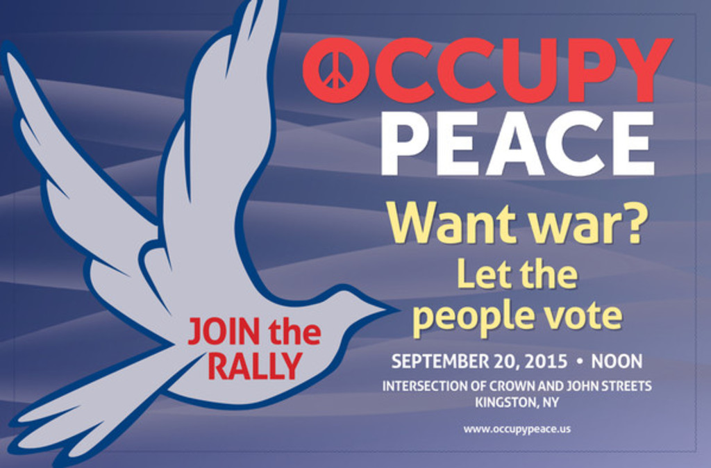 Occupy Peace poster