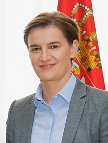 Serbia's 12th Prime Minister Ana Brnabic