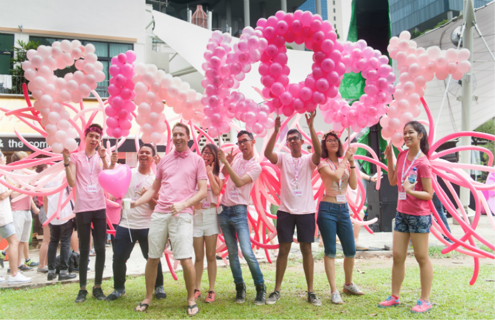 Pinkdo participates in recent LGBTQ event in Singapore