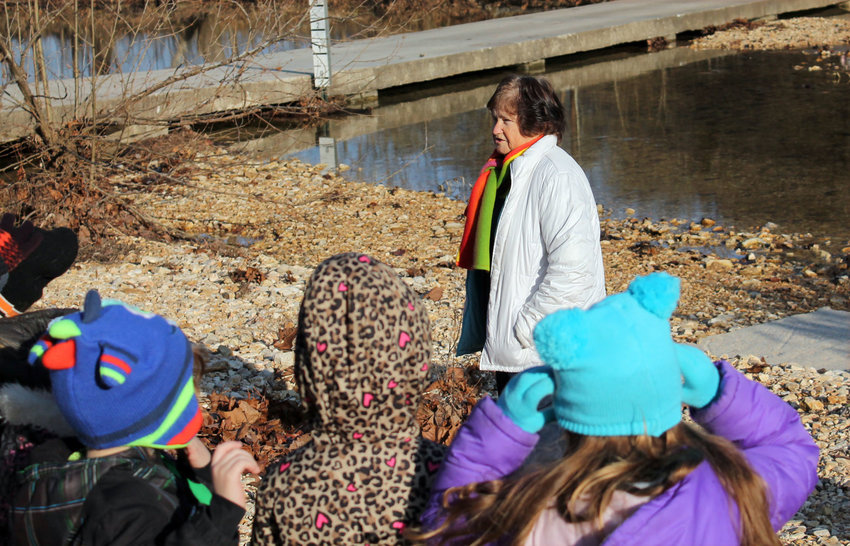 Former school teacher Marie Day has been hosting December field trips to her farm in Chadwick since the 1960s.