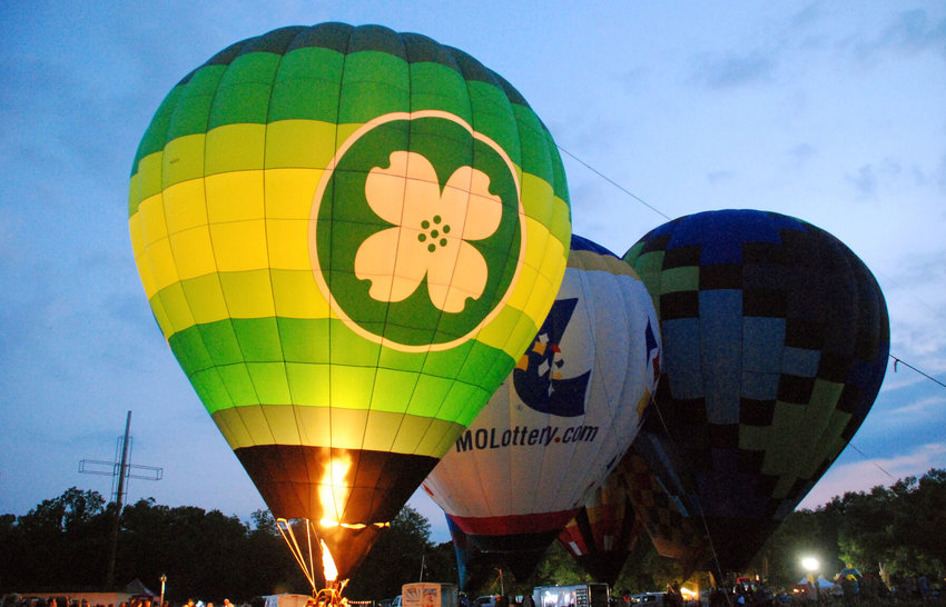 Scenes from the 2021 Children's Smile Center Balloon Glow held at Finley River Park in Ozark, June 18, 2021, in conjunction with the Sertoma Duck Race Festival.