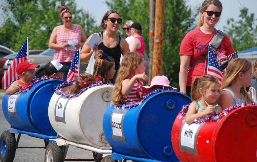 SCENES FROM Chadwick Railroad Days, June 5, 2021.