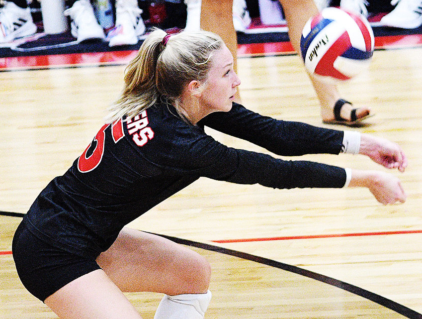 OZARK'S HANNA VORHIES and the Lady Tigers travel to Nixa on Tuesday.