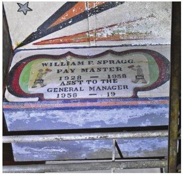The secret folk art below BWL's John Dye Water Conditioning