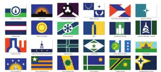 Redditors float new designs for Lansing flag | City Pulse