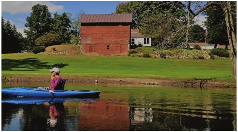 Through the Looking Glass River: a kayak trip across history