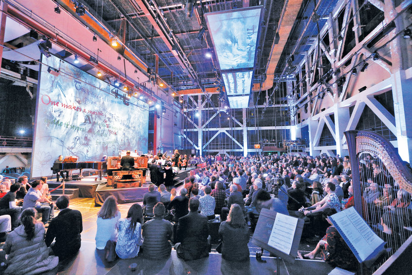 """SoundBox in San Francisco is a flexible, multi-use hall where the San Francisco Symphony and other groups perform in a technological """"sonic paradise."""""""