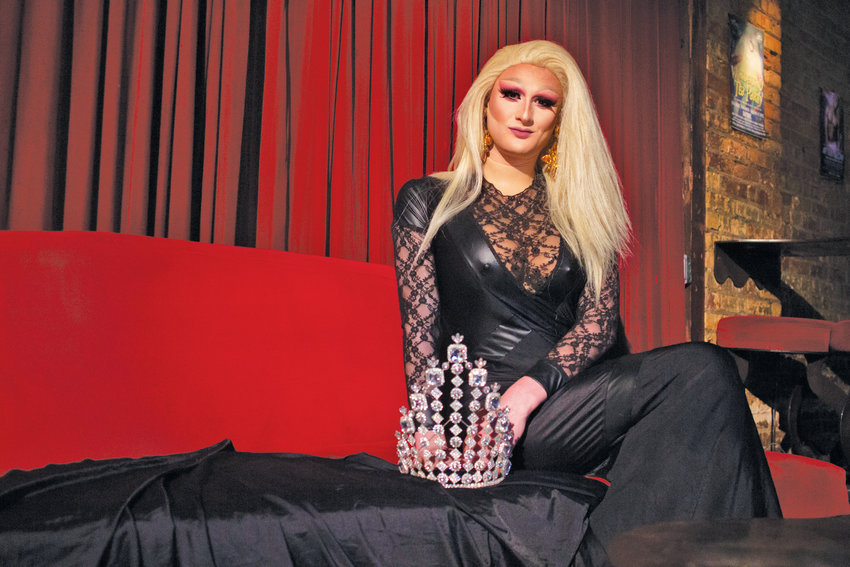 Tealheart will crown her successor at Spiral Dance Bar's drag pageant Sunday.
