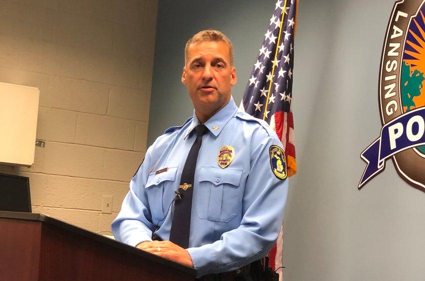 Lansing Police Chief Michael Yankowski.