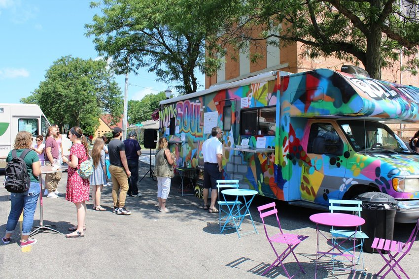 Last year's ArtFeast drew a crowd hungry for vegan grub and handmade art.