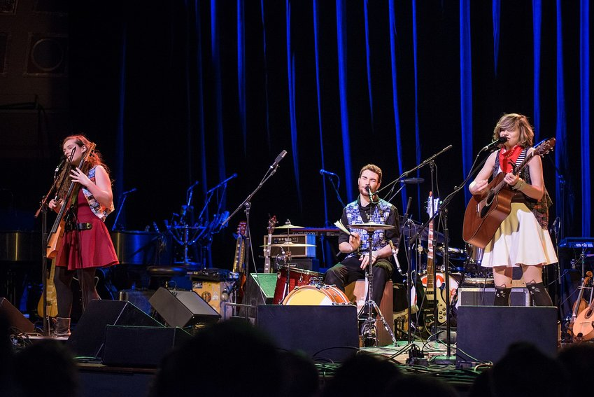 The Accidentals performing at the Ann Arbor Folk Festival in 2016.