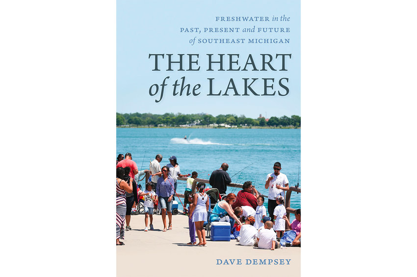 "Cover of ""The Heart of the Lakes."""