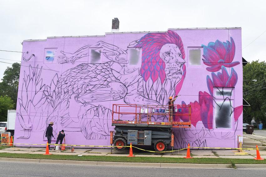 Artist: Werc  901 Cleveland St.