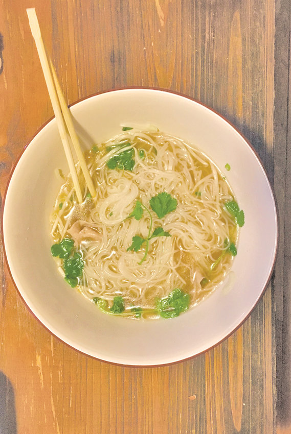 Simply put, Nola Bistro's rare steak pho is the best you can get for under $10.