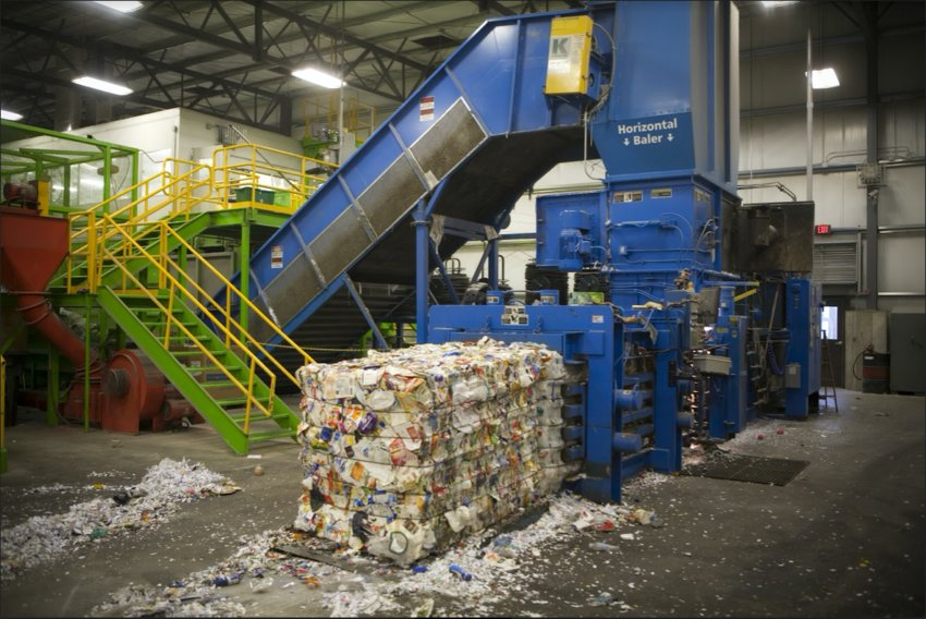 Emmet County Recycling Center has spent decades building relationships with in-state markets that are paying off as competition rises.