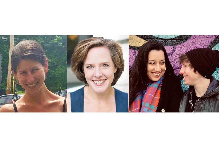 Amanda Strong (far left), Emily Sutton Smith (Center), Isabella Copeland and Kyle Holsinger-Johnson