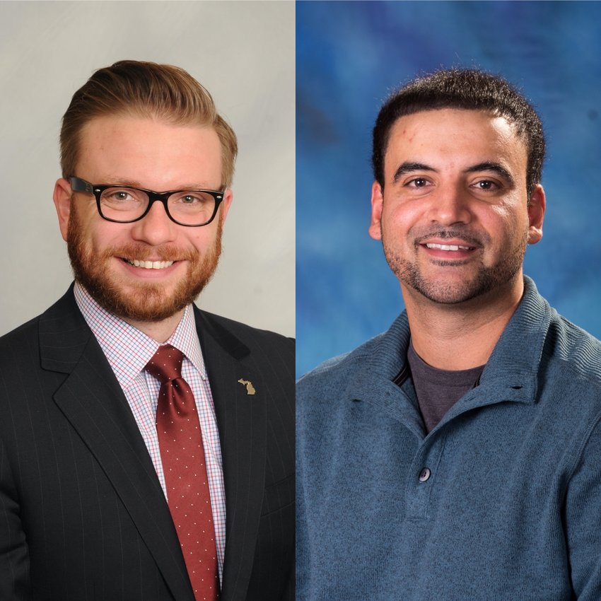 The Lansing City Council on Monday elected Peter Spadafore as president and Adam Hussain as vice president for 2020.